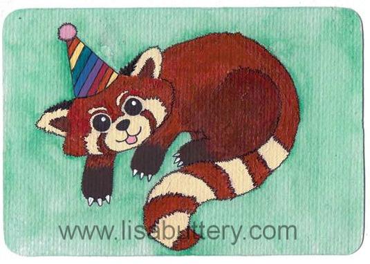 Red Panda  Lisa Buttery